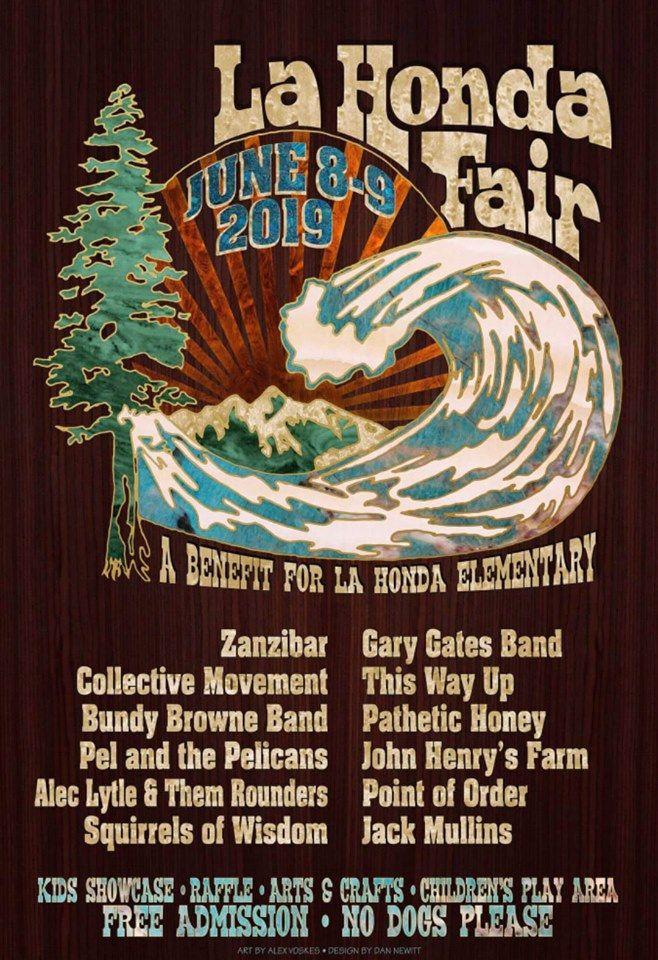 La Honda Fair Poster