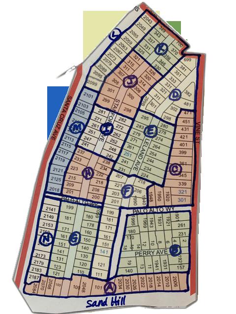 University Park Preparedness Map